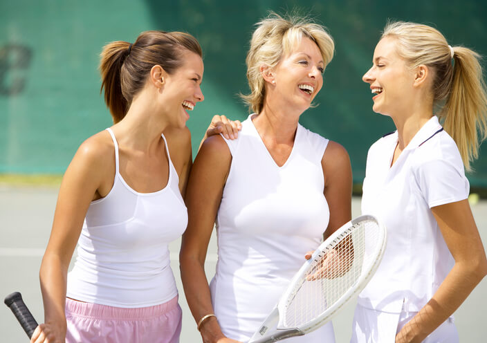 Group Tennis Lessons instructor Santa Monica