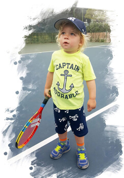 2 years old toddler Tennis lessons