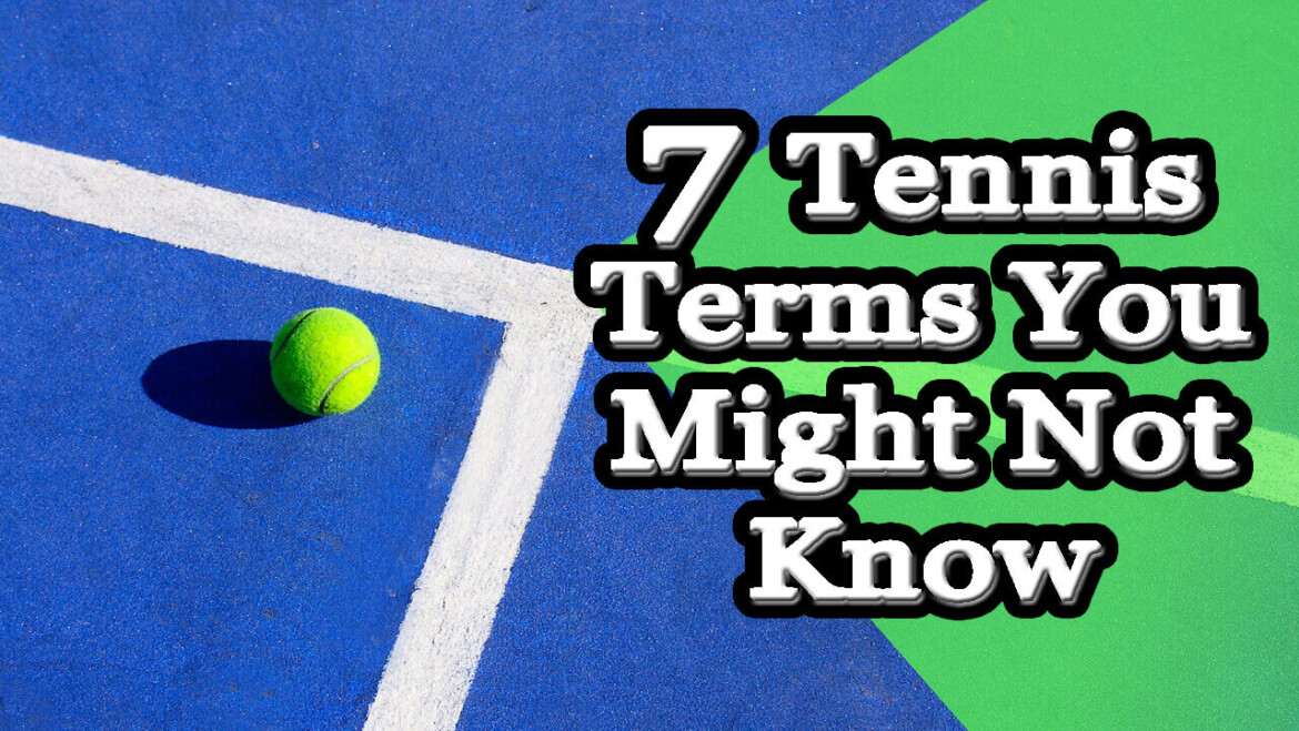 Dictionary tennis terms