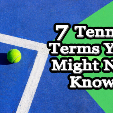 Dictionary tennis terms