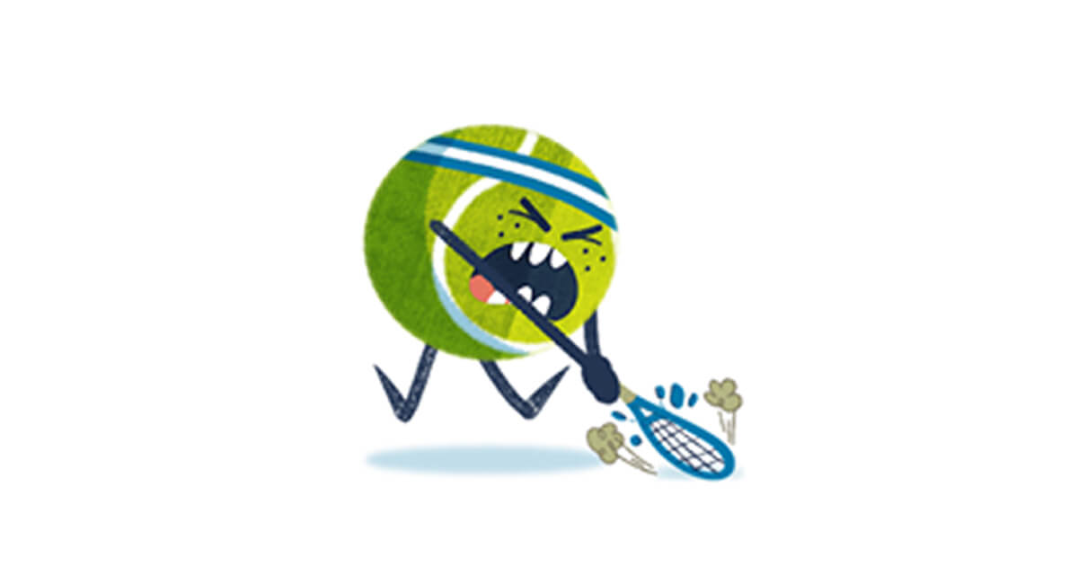 Anger in young tennis players