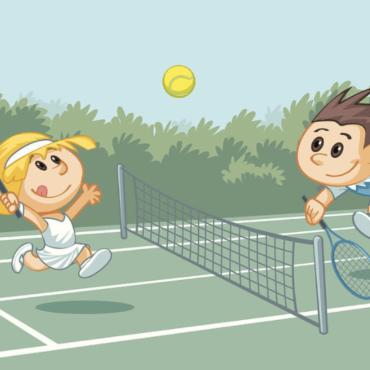 Tennis talent or training?