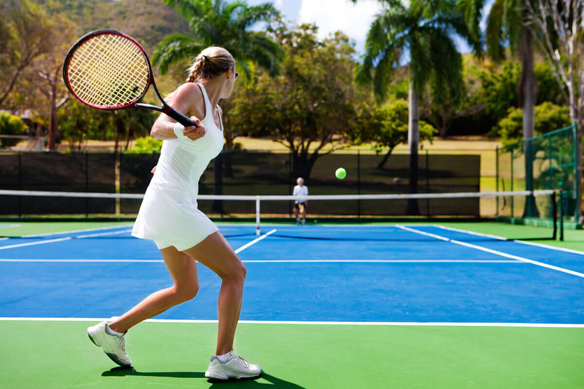 Santa Monica Private TENNIS lessons