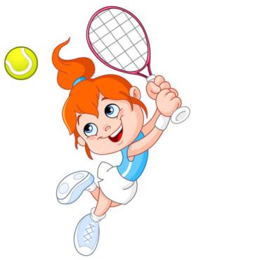 Psyche of children when teaching tennis